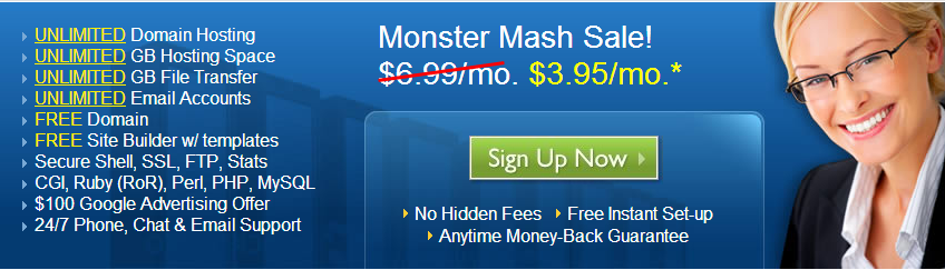 halloween bluehost coupon code and sale