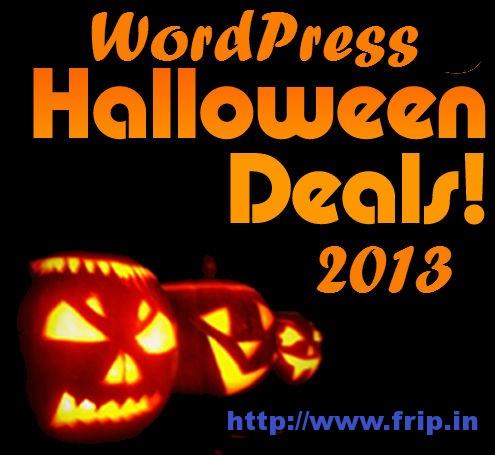 wordpress halloween deals 2013