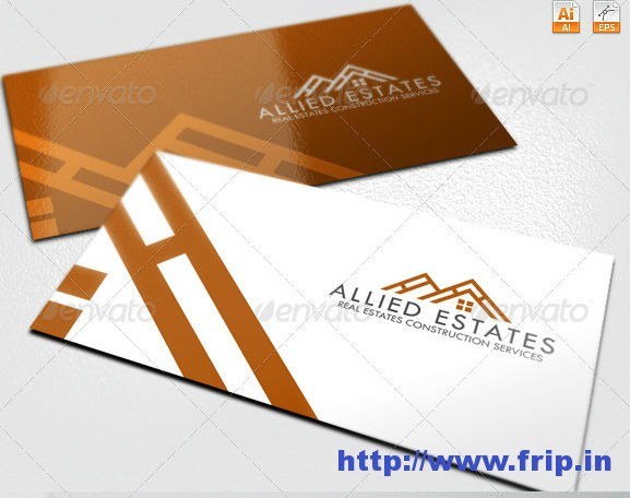 Allied Estates Real Estate Logo Template