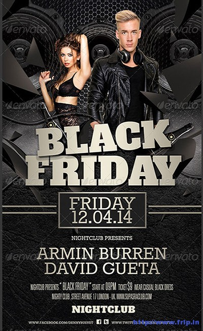 Black-Friday-Club-Flyer-Template