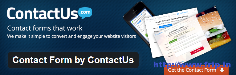 Contact Form By Contact Us