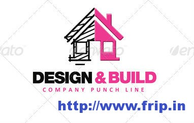 Design  Build Logo Template