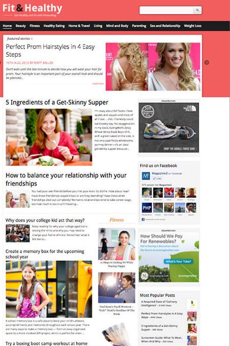 Fit-Healthy-Magazine-wordpress theme
