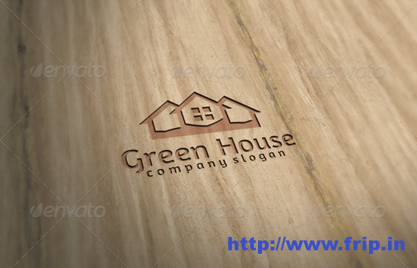 Green House Logo Templates