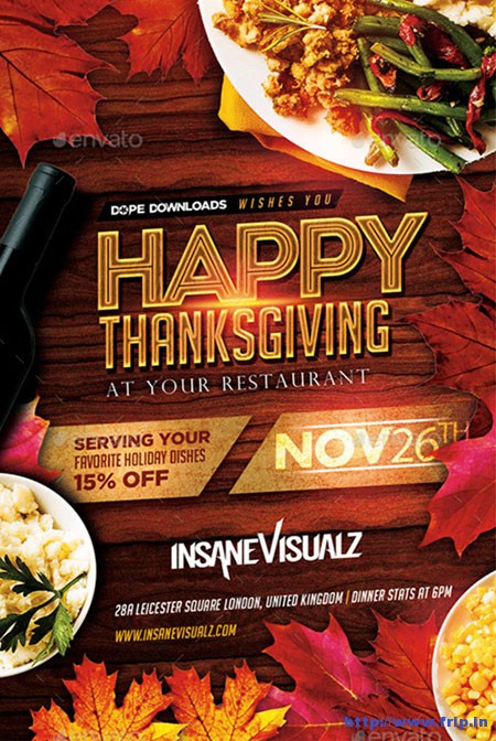 Happy-Thanksgiving-Flyer-Template