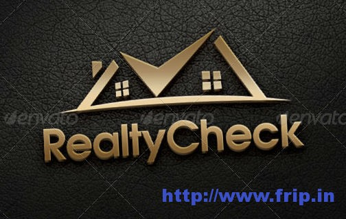 Realty Check Logo Template