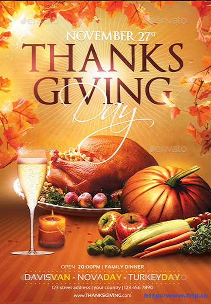 Thanksgiving-Day-Flyer-Templates