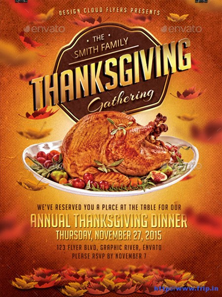 Thanksgiving-Dinner-Flyer-Template
