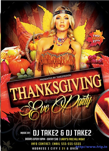 Thanksgiving-Eve-Party-Flyer