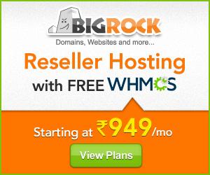 bigrock reseller hosting promo code