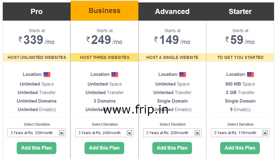 bigrock shared web hosting discount coupon code