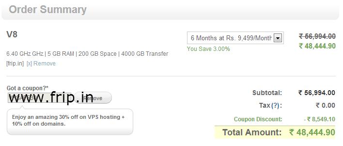 bigrock vps hosting coupon code