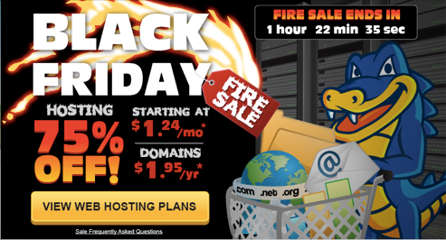 hostgator black friday coupon code