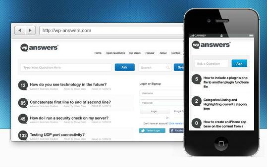 wp answers wordpress plugin