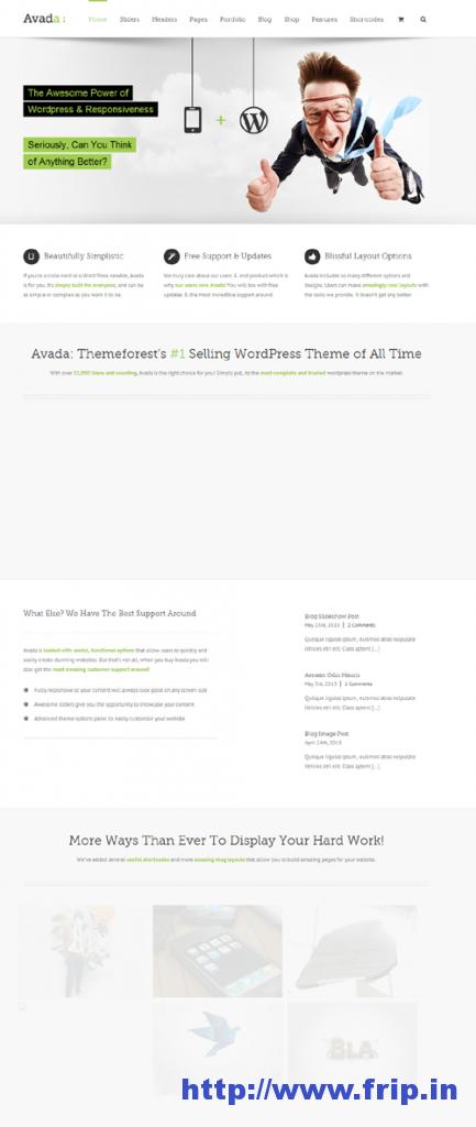 Avada Responsive Multi Purpose Theme