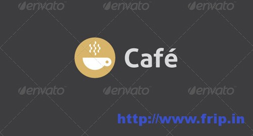 Cafe Coffee Logo Template
