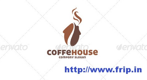 Cafe House Logo Template