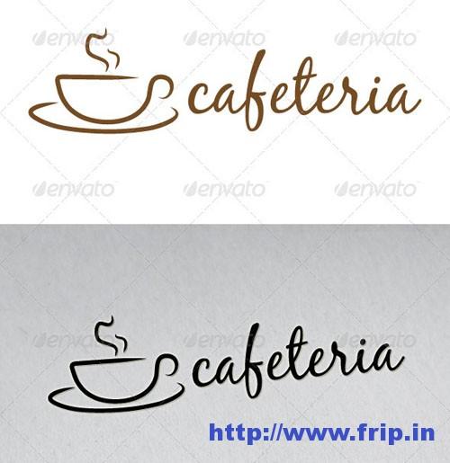 Cafeteria Logo Template
