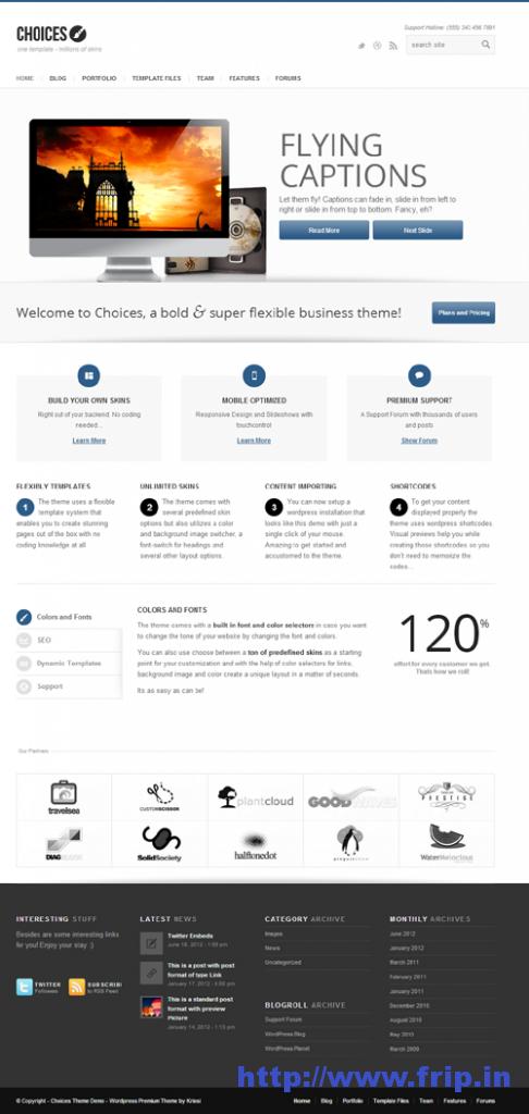Choices Responsive Business & Portfolio