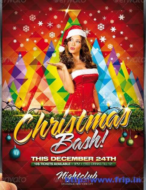 Christmas Bash Flyer Pack