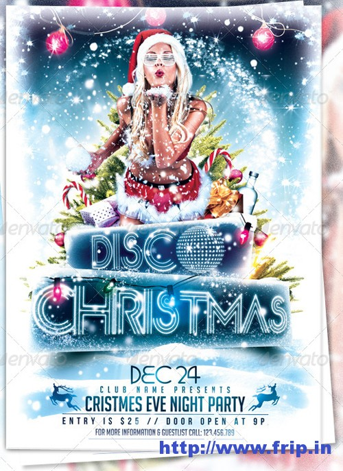 Christmas Event Party Template