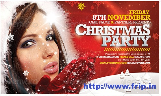 Christmas Party Flyer Templatesss