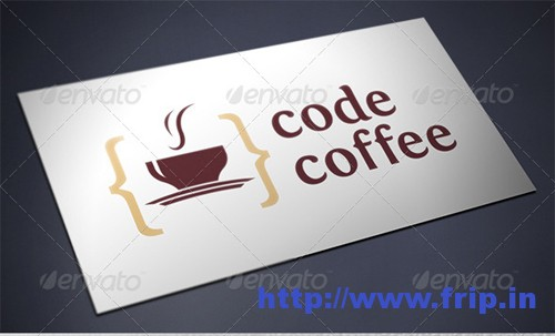 Code Coffee Logo Template