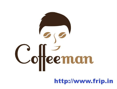 Coffee Man Logo Templates