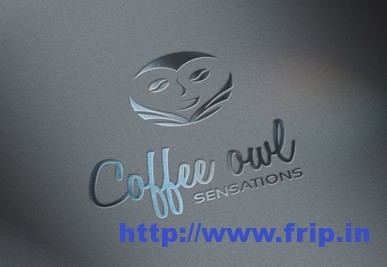 Coffee Owl Logo Template