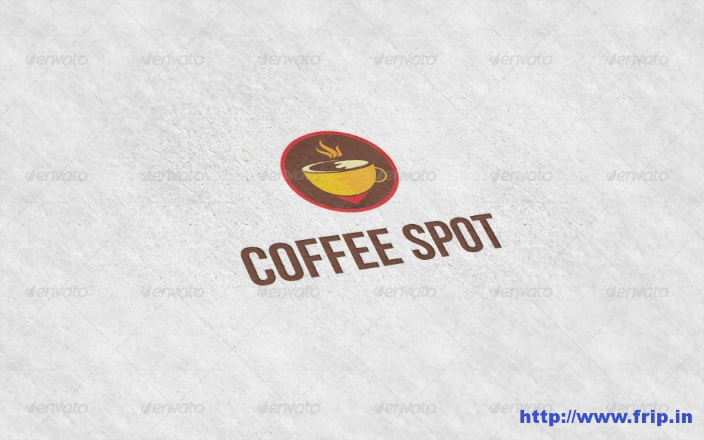 Coffee Spot Logo Template