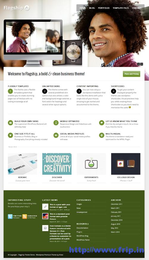 FlagShip Responsive Business & Portfolio Theme