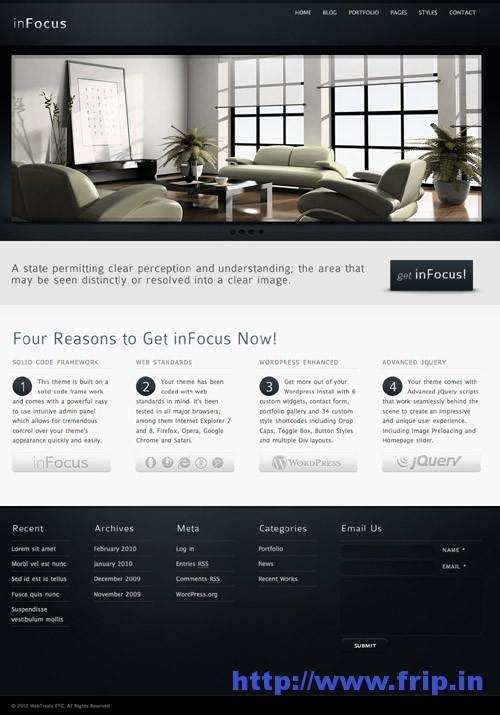 InFocus Powerful WordPress Theme