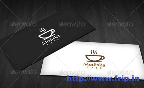 Mediska Cafe Logo Template