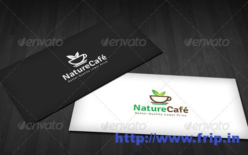 Nature Coffee Logo Template