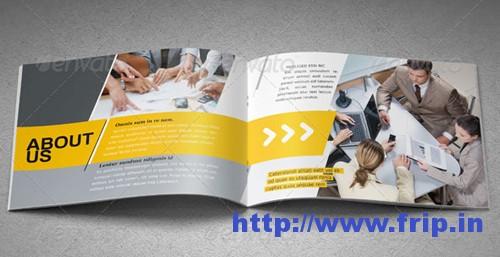 Portfolio Booklet A5 Template