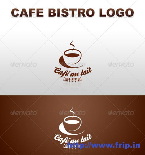Retro Cafe Bistro Bar Logo 7