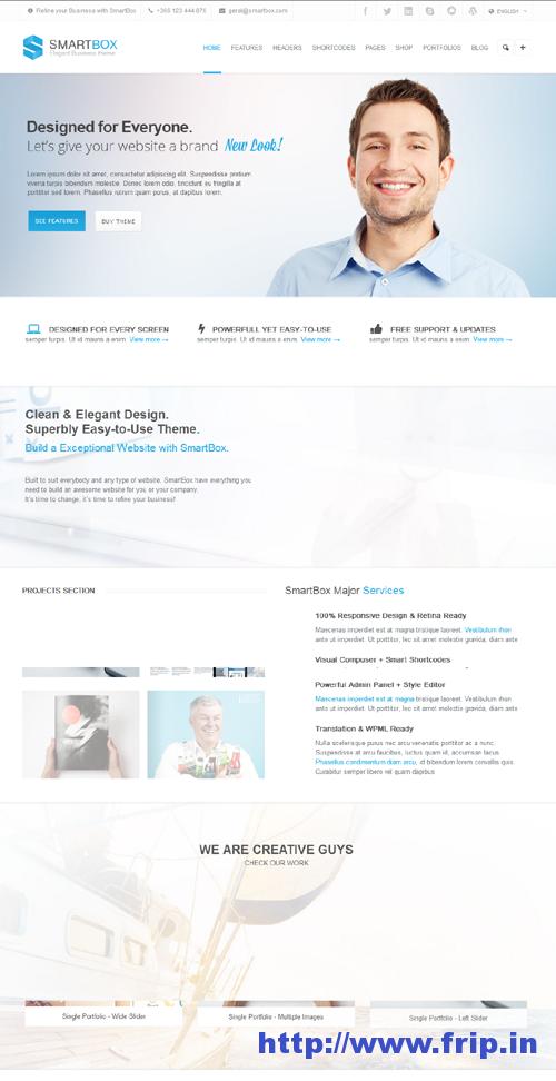 SmartBox Responsive WordPress Theme