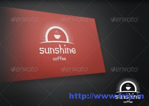 SunShine Coffee Logo Template