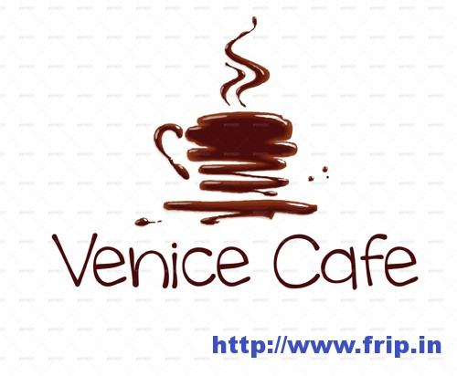 Venice Cafe 1 Logo Template