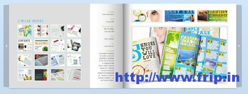 Web Portfolio InDesign Template