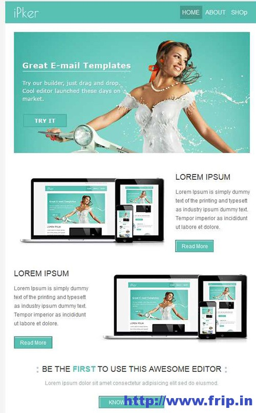 Ipker Multipurpose Email Template