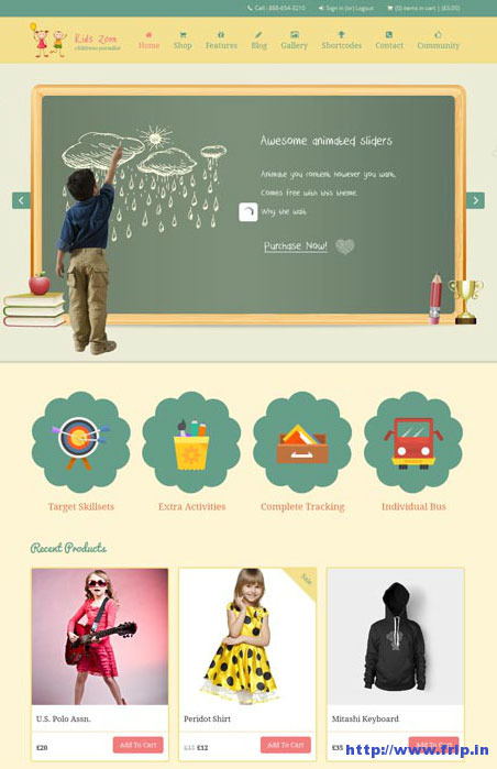 Kids-Zone-Responsive-Children-Theme