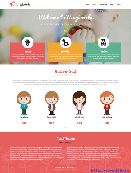 Magicreche-Creche-WordPress-Theme