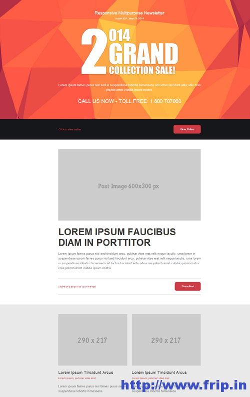 Note Responsive Email Template