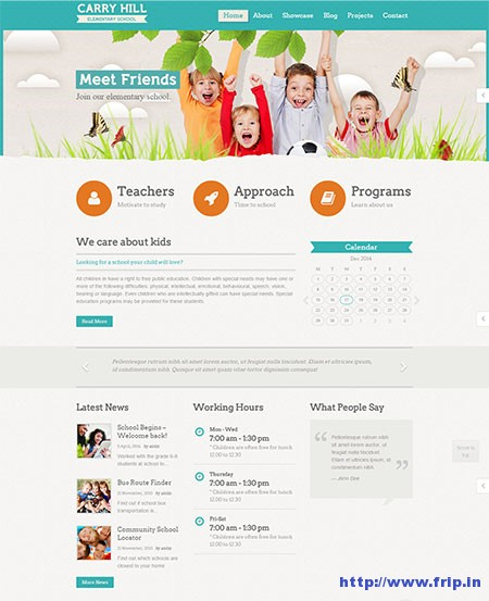 carry-hill-children-wordpress-theme