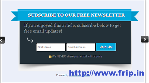 maxblogpress subscriber magnet option forms