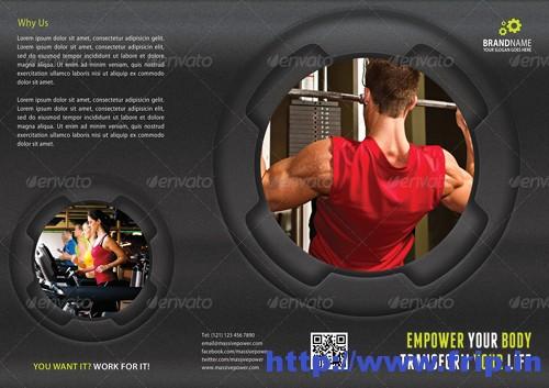 3 in 1 Fitness Tri Fold Brochure