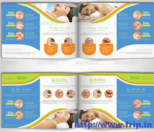Beauty Spa & Wellness Brochure