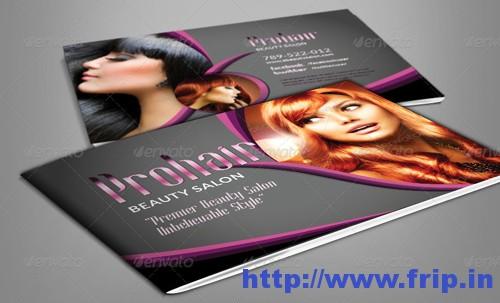 Modern Beauty Salon Brochure