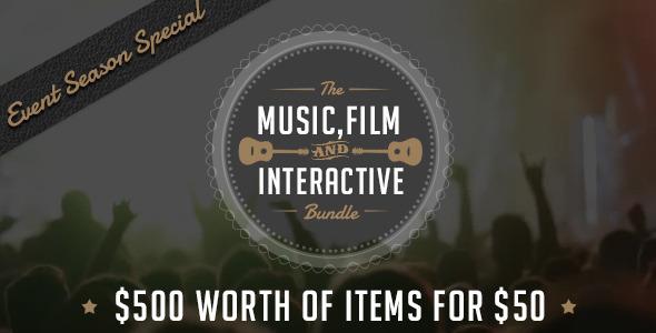 Music, Films & Interactive Bundle